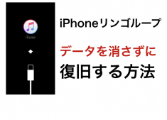 【実録】iPhoneのリンゴループにハマったときの対処方法〜データ残したまま復旧の全記録〜